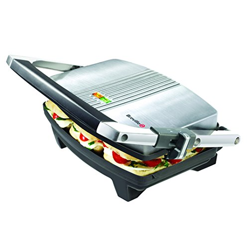 Breville acero inoxidable de 2 rebanadas Panini Press