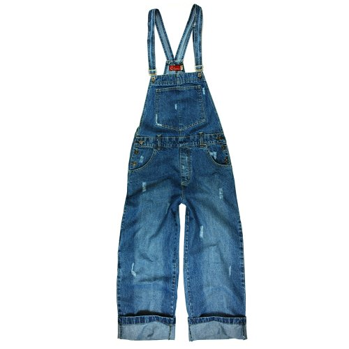 Womens-Dungarees-34-Capri-length-by-Clove-Rare-London-Designer-Sizes-8-10-12-14-16-18-20-22