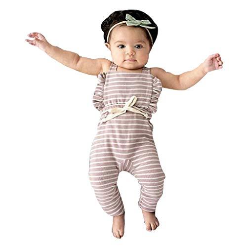 Kinderkleidung,Kinder Baby Jungen Mädchen Langarm Gestreifter Giraffen Druck Top T-Shirt Pullover Sweatshirt Pulli