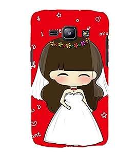 EPICCASE I love you red Mobile Back Case Cover For Samsung Galaxy J2 (Designer Case)