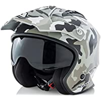 Acerbis casco Jet aire Camo/Brown L