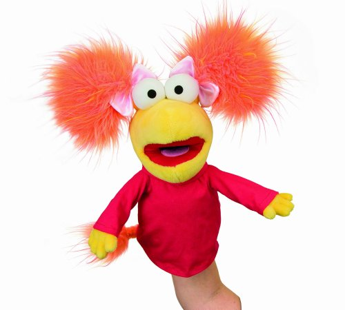 Manhattan Toy 141370 - Marioneta de mano de Fraggle Rock, color rojo