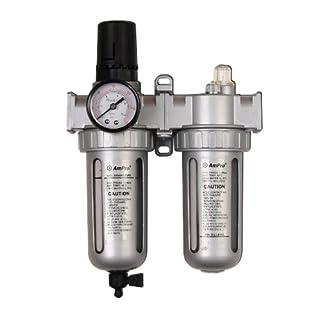 Ampro Tools AR2664 3/8-Inch Air Filter-Regulator and Lubricator