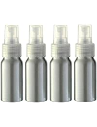 furnido 1oz aluminio aceite esencial botella de Spray Perfume recargable, Fine Mist pulverizador vacío belleza