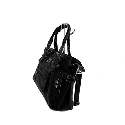 Moderna borsa a mano Jennifer Jones–Borsa da donna borsa borsa Shopper Bag–präsentiert von ZMOKA® in diversi stili Colori, talpa (marrone) - 0 nero