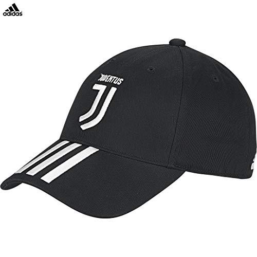 Juventus cappellino nero 3 stripes home 2019/20 - uomo - partite in casa - 100% originale - 100% prodotto ufficiale - taglia unica