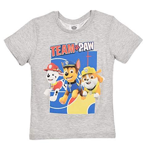 Paw Patrol Team Boys T-Shirt Grau 98 (3 Jahre)