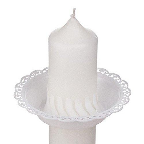 Tropfenfänger für Kerzen mit 3-4 cm Durchmesser