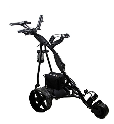 Airel Carrito de Golf Eléctrico Plegable |Carro Golf 3 Ruedas|Golf Trolley-Negro