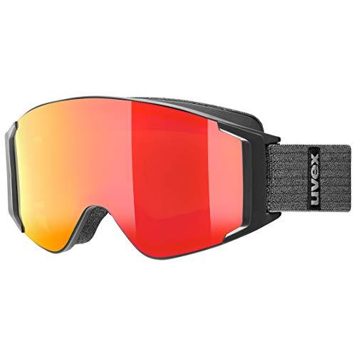 Uvex Unisex-Erwachsene g.gl 3000 to Skibrille, schwarz, one Size
