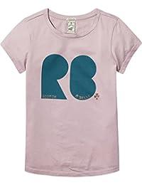 Scotch & Soda R'Belle Mädchen A-Line Artwork T-Shirt Rosa (Satin 1520), 164 (Herstellergröße: 14)