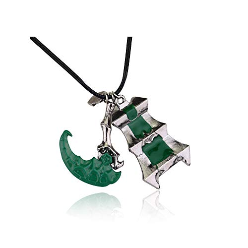 cessories Necklaces Scythe and Tower Pattern Pendant Christmas Thanksgiving Gift for Couple Best Friends ()
