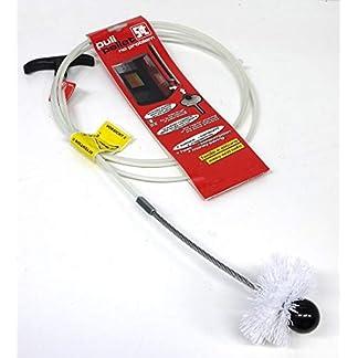 PYRO FEU 862489 Limpiador mecánico Pulipellet para tuberías de estufa 5 m, Blanco