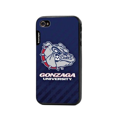 Keyscaper Handy Schutzhülle für Apple iPhone 4/4S-Gonzaga University Gonzaga University Basketball