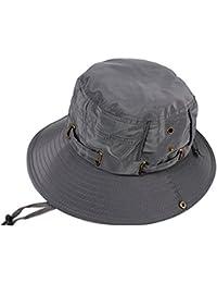 93a437c91 Amazon.co.uk: Grey - Bucket Hats / Hats & Caps: Clothing
