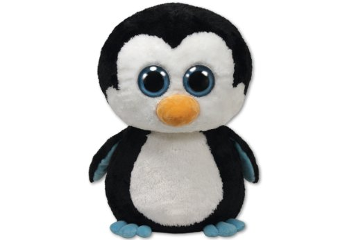Ty Beanie Boos Glubschis TY Waddles Boo Pinguin X-Large, ca. 42 cm