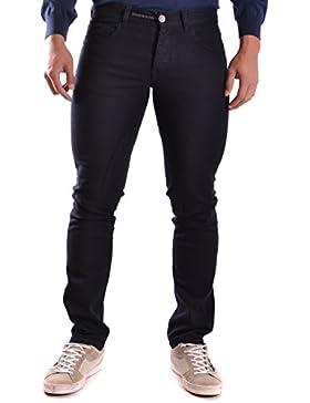 Etiqueta Negra Hombre MCBI118021O Negro Algodon Jeans