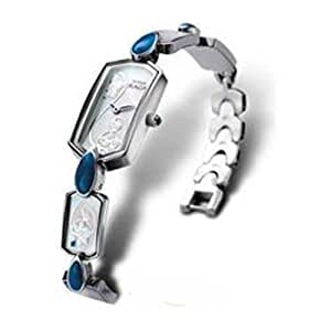 Titan Raga Analog Silver Dial Women's Watch - 9746SM01
