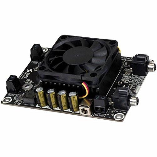 TDA7492 D Klasse Hochleistungs-Verstärker Board mit Heizkörper 2x50W blau -