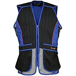 Percussion - Gilet ball-trap Noir et bleu Percussion