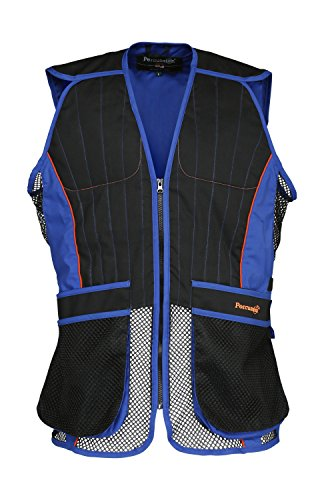Percussion Tontauben Schießweste - Blau (Medium) Sporting Clays Shooting Vest