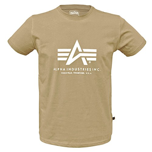 Alpha Ind. Basic T-Shirt Caramel - L