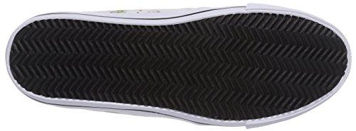 KangaROOS Kangavulct 2078 A, Baskets Basses mixte enfant Blanc - Weiß (white multi 009)