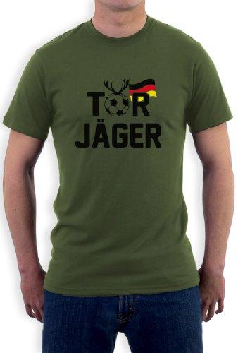 Torjäger T-Shirt Olivgrün