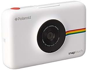 Polaroid Fotocamera Digitale Snap Touch a Stampa Istantanea con Schermo LCD (bianco) e Tecnologia di Stampa Zink Zero Ink