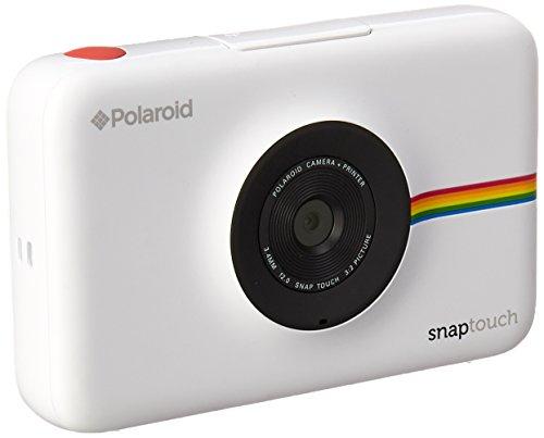 Polaroid-Schnappschuss-Sofortdruck-Digitalkamera mit LCD-Display (Weiß) mit Zink Zero Ink Drucktechnologie (Touch Polaroid)