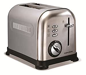 Morphy Richards 44328 Toaster Brushed Accents