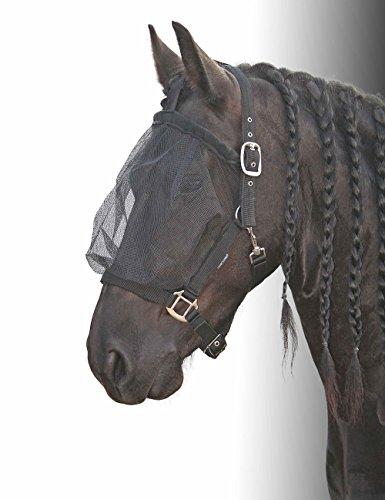 Harrys horse Fliegenschutzmaskenhalfter Fliegenmaske schwarz Pony