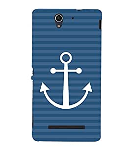 Anker Design 3D Hard Polycarbonate Designer Back Case Cover for Sony Xperia C3 Dual D2502 :: Sony Xperia C3 D2533