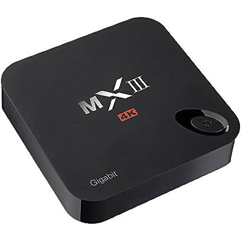 Quad Core TV box Android 5.1 de VicTsing MX3 1080P Fully Loaded KODI Wifi (XBMC) 2G RAM + 8G ROM 2.4G / 5G de doble