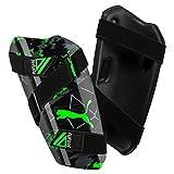 PUMA Future 19.5 Schienbeinschoner, Black-Charcoal Gray-Green Gecko, L