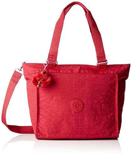 Kipling Damen NEW SHOPPER S Tote, Rot (Radiant Red C), 42x27x13 cm