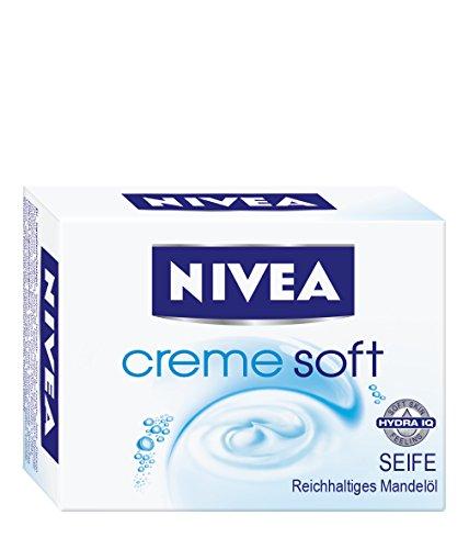 Nivea Creme Soft Cremeseife, 100g (Flüssige Seife Nachfüllen)