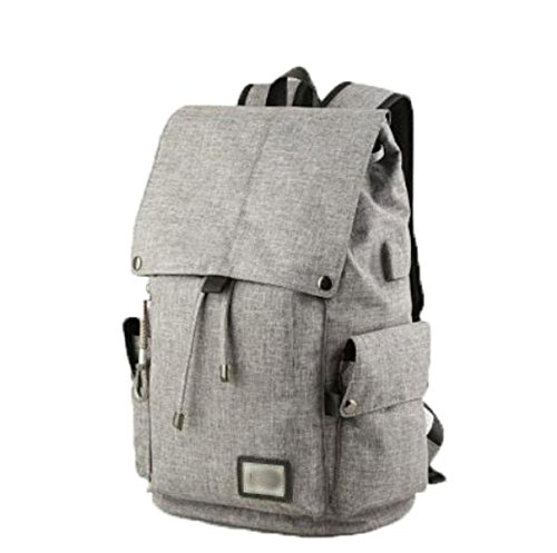 FZHLY Versione Coreana Del Uomo Tracolla Leisure Travel Bag Computer,Gray Gray