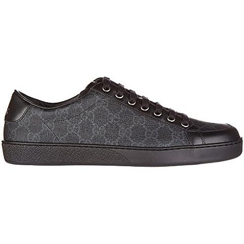 Gucci scarpe sneakers uomo in pelle nuove miro