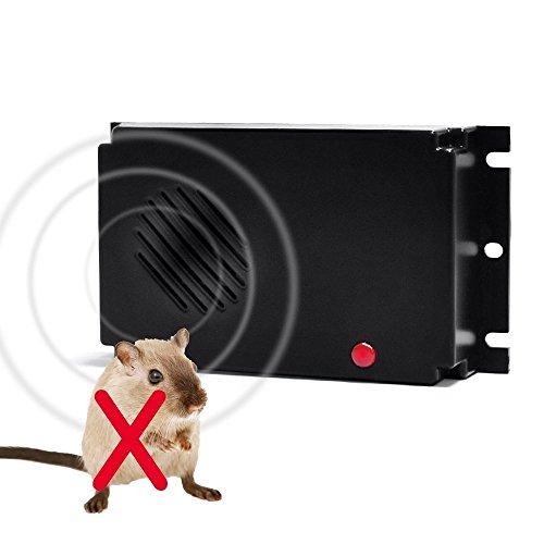 AngelaKerry Ultraschall Marten Repeller kein Stromanschluss Halten Sie Schorf weg von Ihrem Auto Haus,Garage, Scheune, Dachboden oder Garten-laube