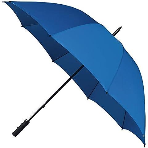 Falcone in fibra di vetro antivento ombrello da Golf, Colore: Blu