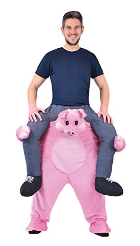 Bristol Novelty AC867 Huckepack Schwein Kostüm (Huckepack Fancy Dress Kostüm)