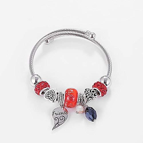 Besten Dezente Kostüm - SDBUA Damen Armband,Silber Damen Mode Legierung