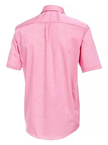 CASAMODA Messieurs Chemise d'affaires Également disponible en grandes tailles 100 % coton rose fuchsia