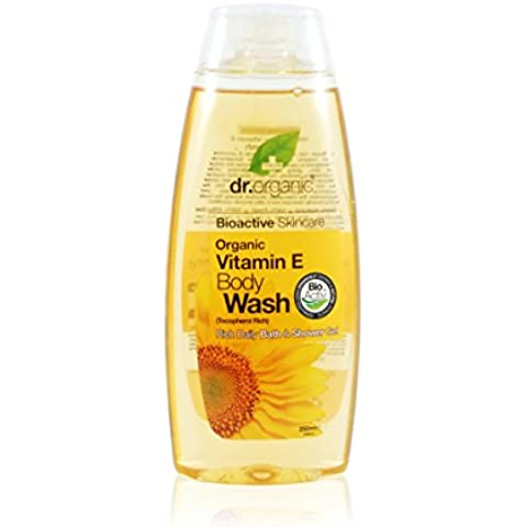 Dr. Organic Vitamin e Body Wash - Detergente Corpo 250 ml