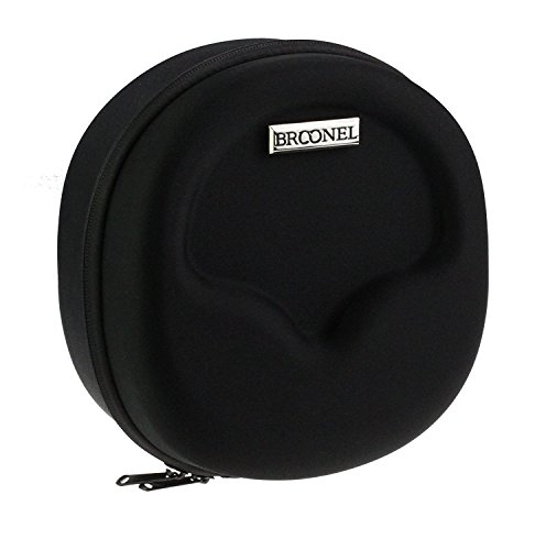 Broonel Hard Headphones Case / Cover With Built in 2500mAh Power Bank For TaoTronics Wireless Headset Bluetooth Headphones