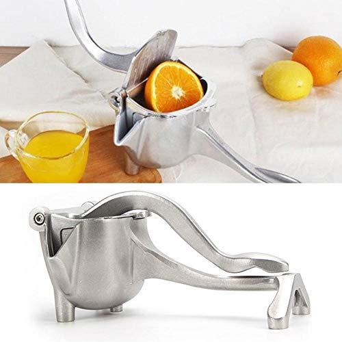 Exprimidor manual de limón, multifunción, de aleación de aluminio, exprimidor de zumo de granada...