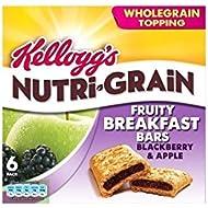Nutri-Grain Barres-déjeuner Blackberry & Apple (6x37g) de Kellogg - Paquet de 2