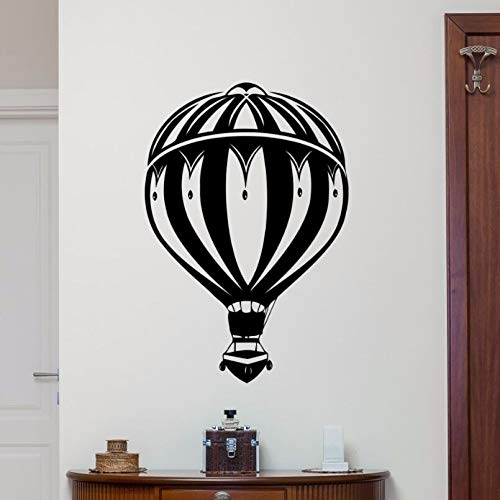 Wall Sticker Hot Air Balloon Wall Decal Bedroom Wall Poster Nursery Kids Room Decoration New Design Hot Air Balloon Decal  42x61cm