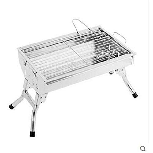 Tragbare Barbecue Grills Edelstahl Grill Falten Verdickung